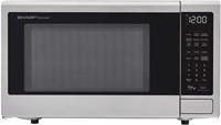 Sharp ZSMC1449FS Smart Countertop Microwave Oven