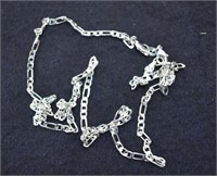 """.Beautiful 22"""" Sterling Silver Necklace"""