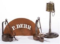 Rare Peter Derr (berks Co., PA, 1793-1868) articles