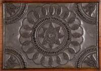 Detail of tin