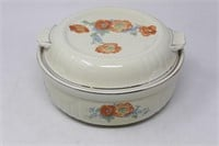 """HALL SUPERIOR """"Poppies"""" Covered Casserole Dish"""