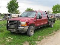 2001 Ford F-350 Diesel w/ Flatbed