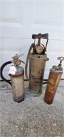 Vintage Fire Fighter Memorabilia Internet Auction