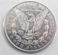 1878 CC  Morgan Silver Dollar XF45