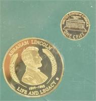 Abe Lincoln Bicentennial Set Gettysburg Address