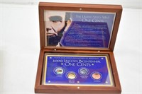 2009 Lincoln Bicentennial One Cents in Box