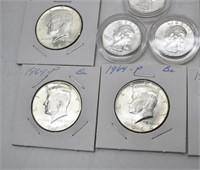 90% Brilliant Uncirculated Quarters & Halves