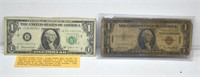 Scarce $1 Dollar Barr Note & 1935A Hawii $1 Dollar