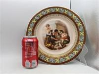 (2) Hand Painted Czechoslovakia Porcelain