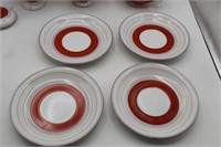 Hand Painted Japan Sugar/Creamer Set