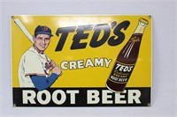 Ted's Root Beer Sign