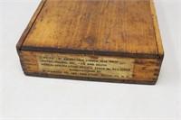 Vtg. Wooden Rubber Letter Number Stamp Set