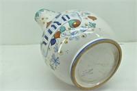 (2) Fratelli Mari Deruta Pottery Pitchers Italy