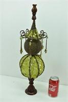 Whimsical  Decor Filigree Metal & Netting
