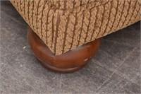 ASHLEY Furniture Chenille Ottoman