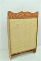 Vintage Oak Medicine Cabinet w/Mirror & Towel Bar