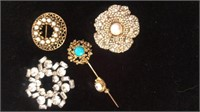 Broach & pin collection