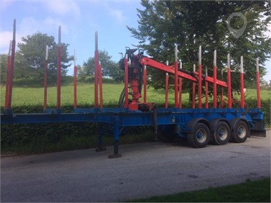 2012 WHEELBASE TIMBER TRAILER at TruckLocator.ie