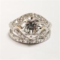 2 Carat Diamond & Platinum Ring
