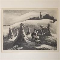 Thomas Hart Benton Litho