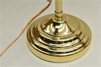 Adjustable Brass Desk Lamp w/ Pull Chain