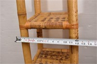 Unique Bamboo 4-Tiered Shelf