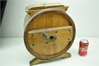 Old Wooden Butter Churn