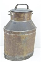 Small Oval Milk Can