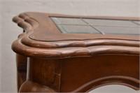 Oak Claw Foot Sofa Table