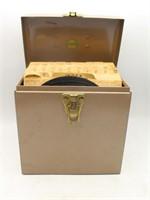 1950's RCA VICTOR 45 RPM Bakelite Player & Records