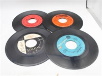 Collection of 45 RPM Records & CAPITAL Record Case