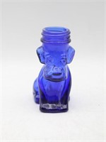 Cobalt Blue Owl & Puppy Bottles/ Containers