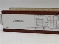Airplane Load Adjuster & Pressure Slide Rules