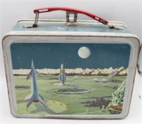1950's Rocket Space Ship Lunch Box by Thermos