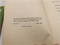(7) Books: Clara Barton By Helen Boylston 1964,
