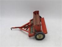 Tru-Scale Grain Drill. Seed Spreader Metal Toy