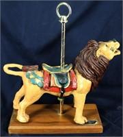 PJ's Carousel Collection Dentzel Lion Replica
