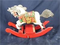 Schmid 1984 Musical Collectible Rocking Horse