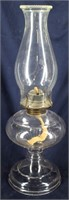 EAGLE Glass Oil Lamp with Chimney