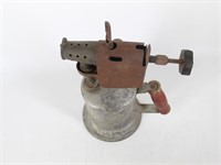 Vtg. Wooden Handle Blow Torch-Marked 32A