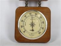 Vtg. SPRINGFIELD Barometer Weather Station Wall