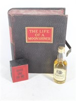 """""""The Life of a Moonshiner"""" Hollow Book Box"""