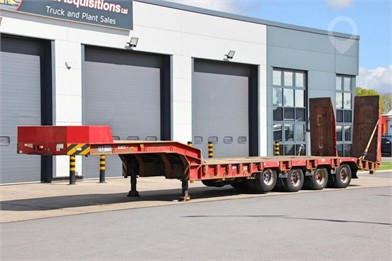 2004 ARB TRAILER 4 AXLE 9FT WIDE REAR STEER LOW LOADER 7500 at TruckLocator.ie