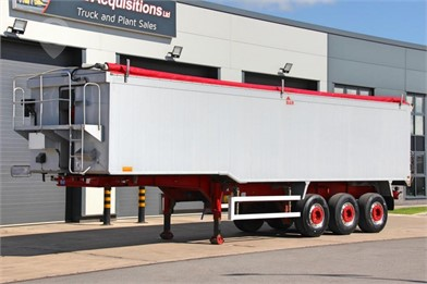 2012 WILCOX TRI AXLE ALLOY BULK TIPPING TRAILER at TruckLocator.ie