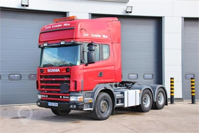 2002 SCANIA R164G580 at TruckLocator.ie