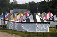 American Tent and Awning Ring 1: 100's of Pole Tents