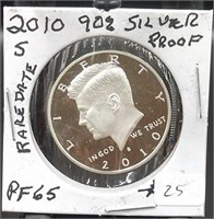 Multi Collection Coin and Jewelry Auction