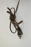(2) Eagle Brass Vintage Goose Neck Desk Lamps