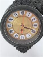 Intricate Cherub Quartz Mantle Clock