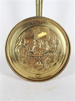 PEERAGE Long Handle Brass Bed Warmer-England